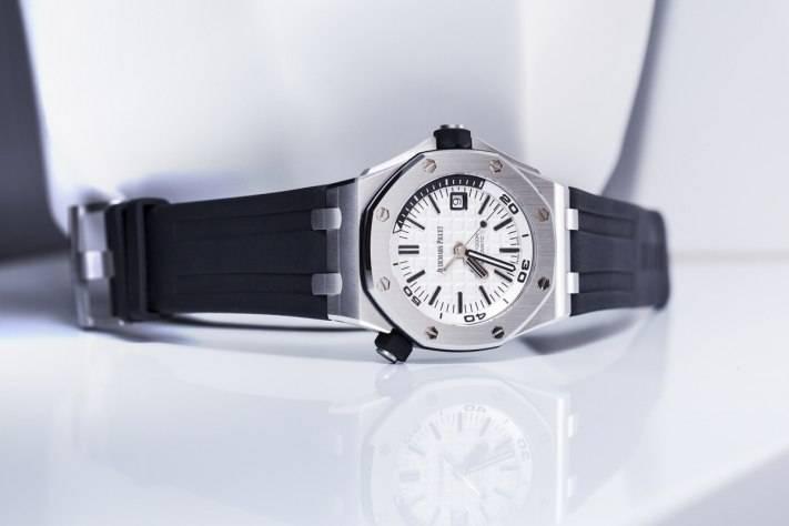 Audemars Piguet Royal Oak Offshore Diver Watch Ref. 15710 SIHH 2015 Front