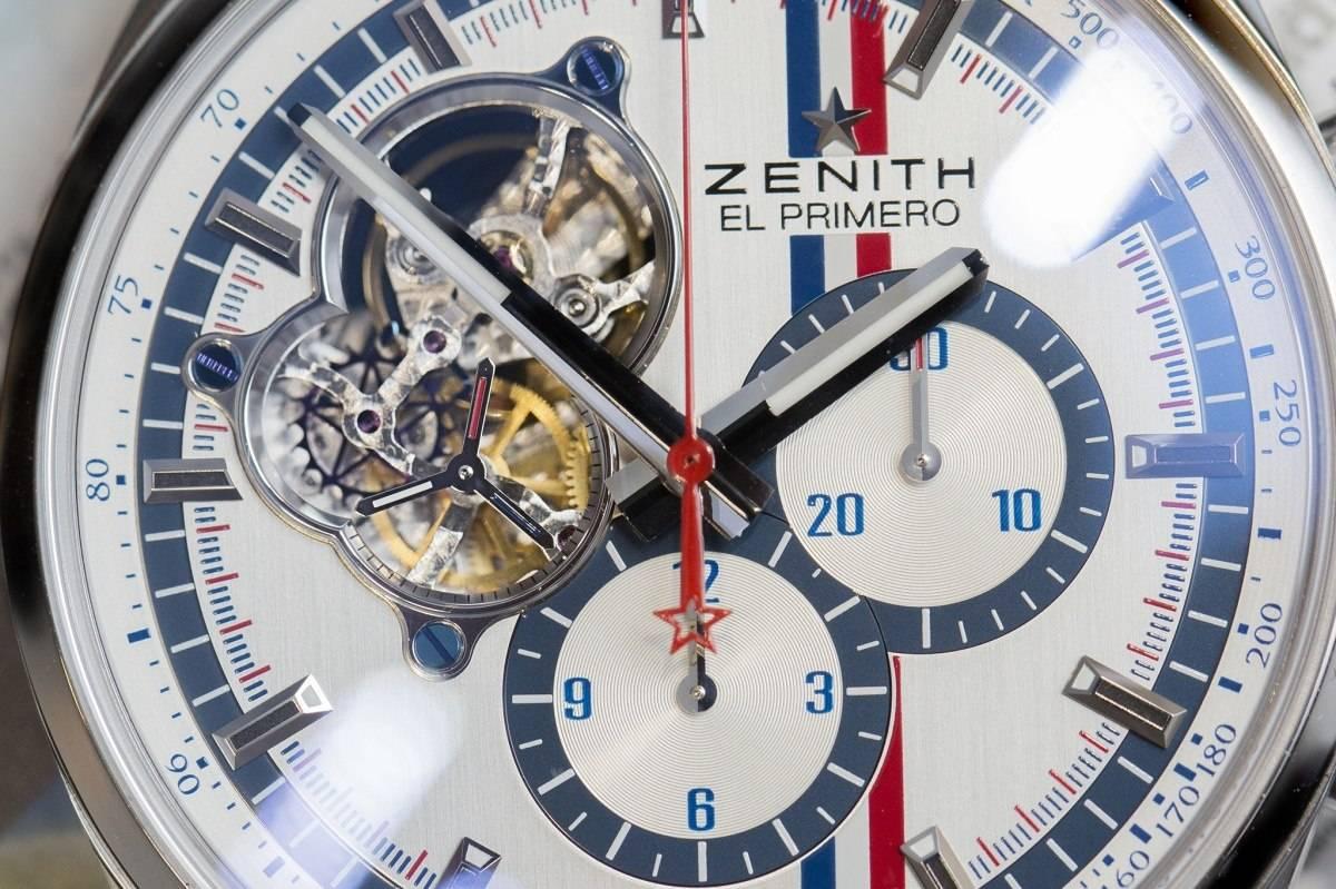 Baselworld 2015 Zenith El Primero Chronomaster 1969 Tour Auto Edition Watch open dial