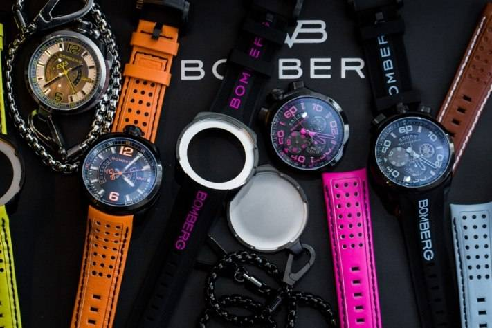 Bomberg Bolt-68 Neon Watch Baselworld 2015