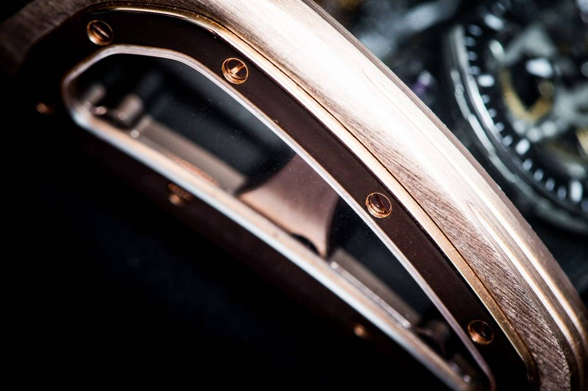 Cabestan Triple Axis Tourbillon Watch Baselworld 2015 Sapphire