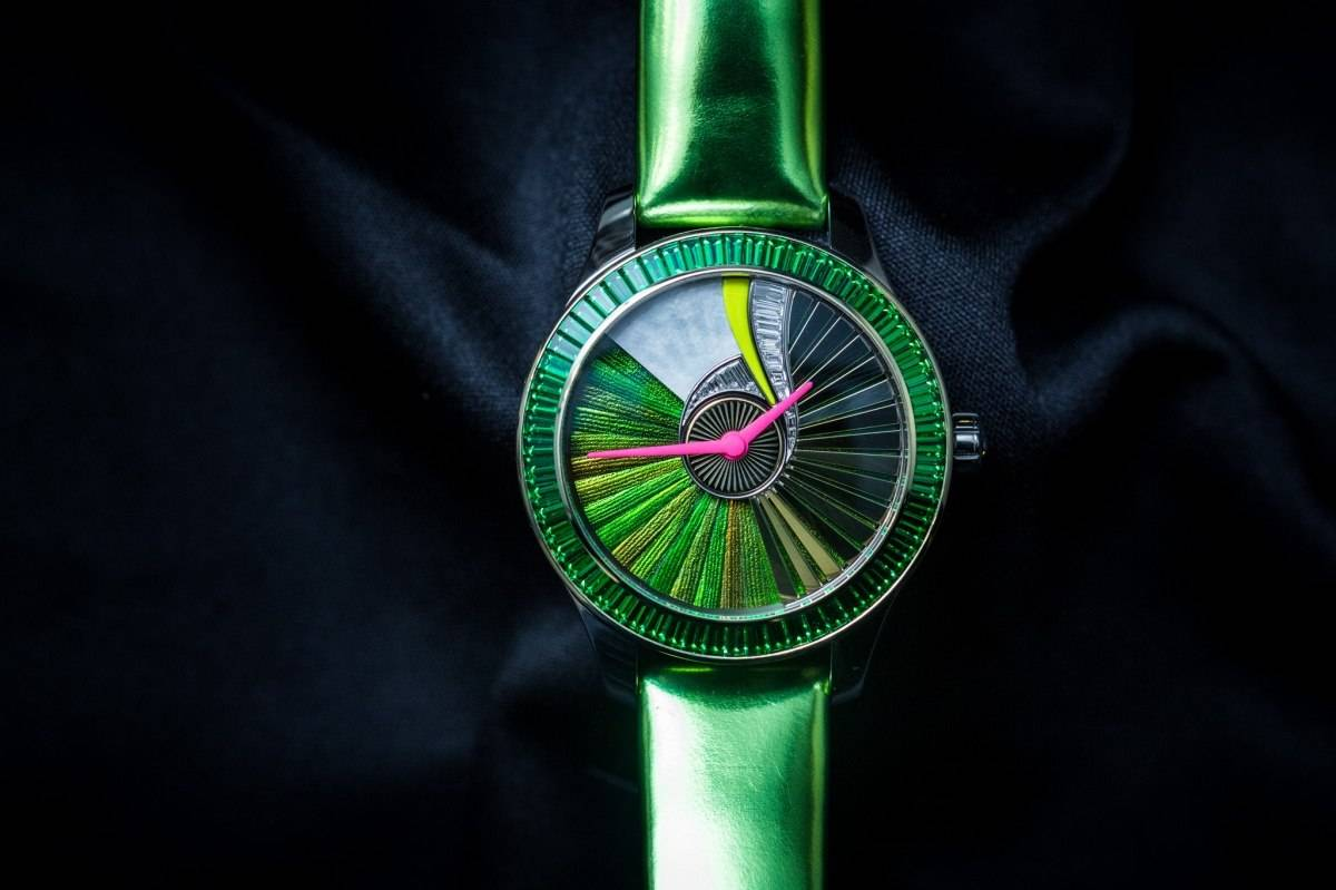 Dior VIII Grand Bal Pièce Unique Envol No.5 Watch Baselworld 2015
