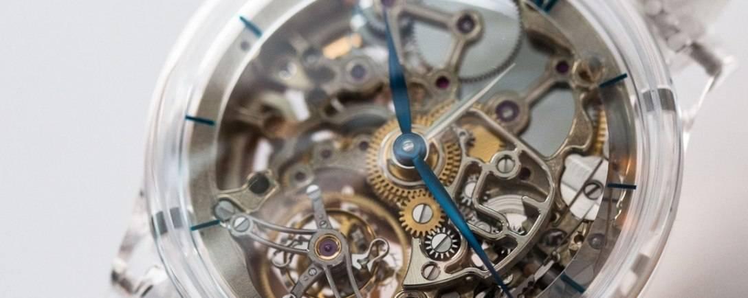 H. Moser & Cie. Innovates with The Venturer Tourbillon Dual Time Sapphire Skeleton