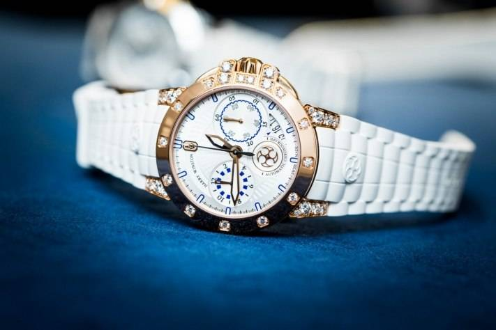 Harry Winston Ocean Chronograph 36 mm ladies watch baselworld 2015