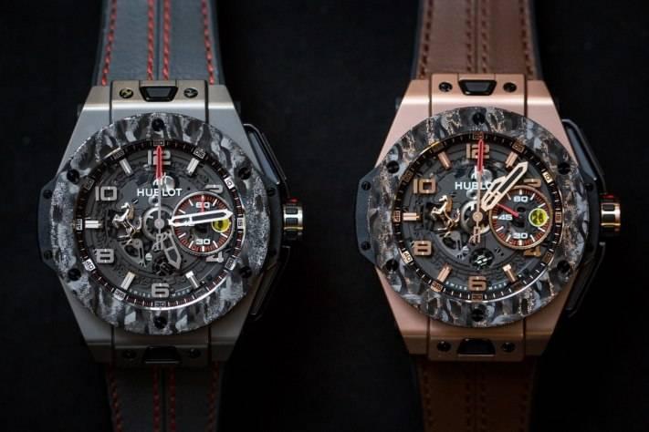 Hublot Big Bang Ferrari Carbon Watch Baselworld 2015