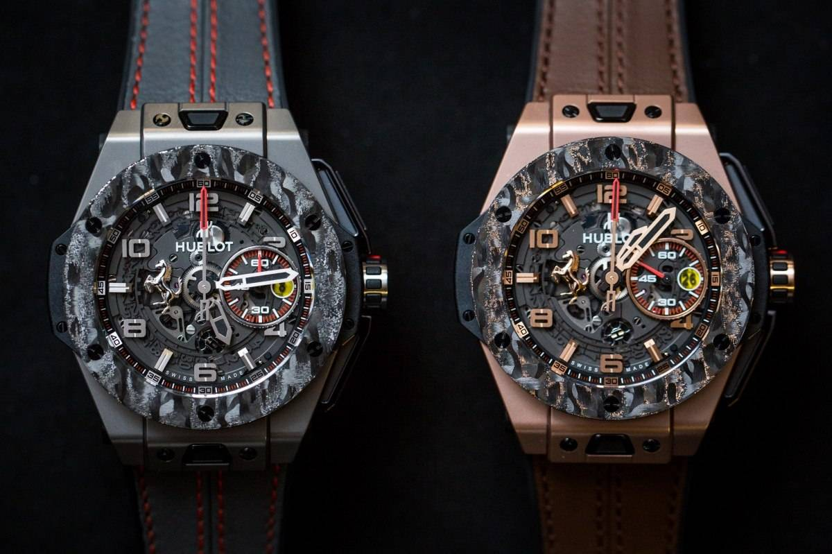 Hublot Big Bang Ferrari Carbon Watch Baselworld 2015