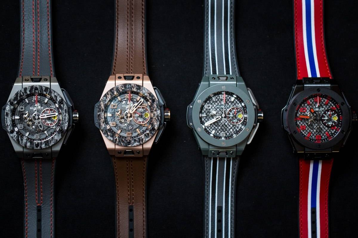 Hublot Big Bang Ferrari Carbon Watch Collection Baselworld 2015