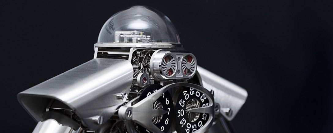 Melchior: MB&F Brings Robot Clock To Life