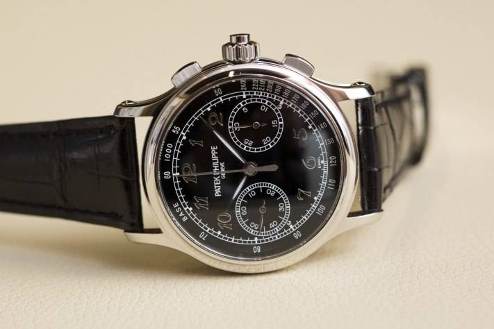 Patek Philippe Ref 5370 Split-seconds Chronograph Watch Baselworld 2015 Front