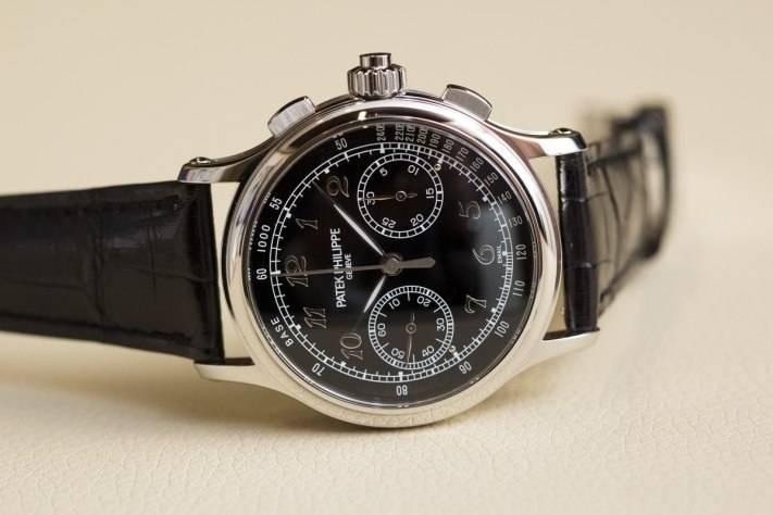 Patek Philippe Ref 5370 Split-seconds Chronograph Watch Baselworld 2015 Front