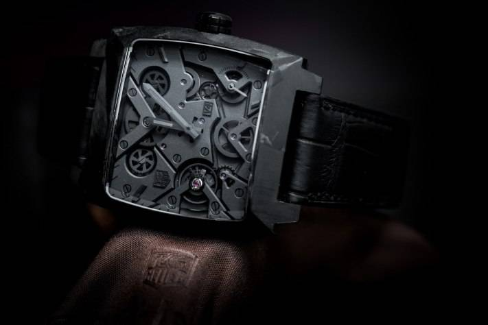 Tag Heuer Monaco V4 Phantom Watch Baselwolrd 2015