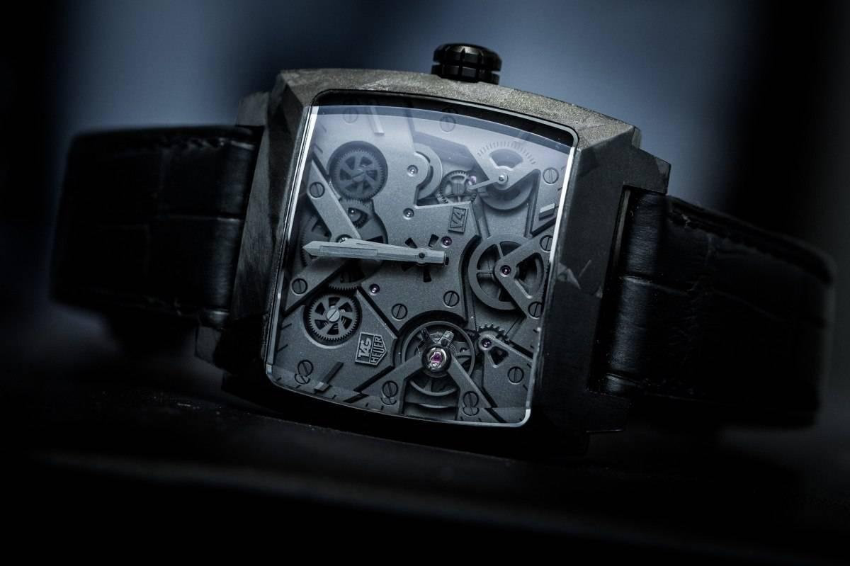 Tag Heuer Monaco V4 Phantom Watch Baselwolrd 2015 Front