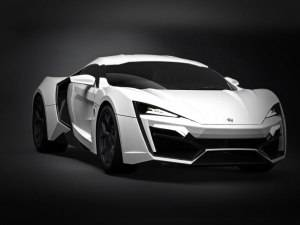 Furious 7's $3.4 Million Dream Machine, the Lykan HyperSport
