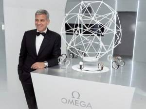 George Clooney Hosts Omega Space Exploration Dinner in Houston