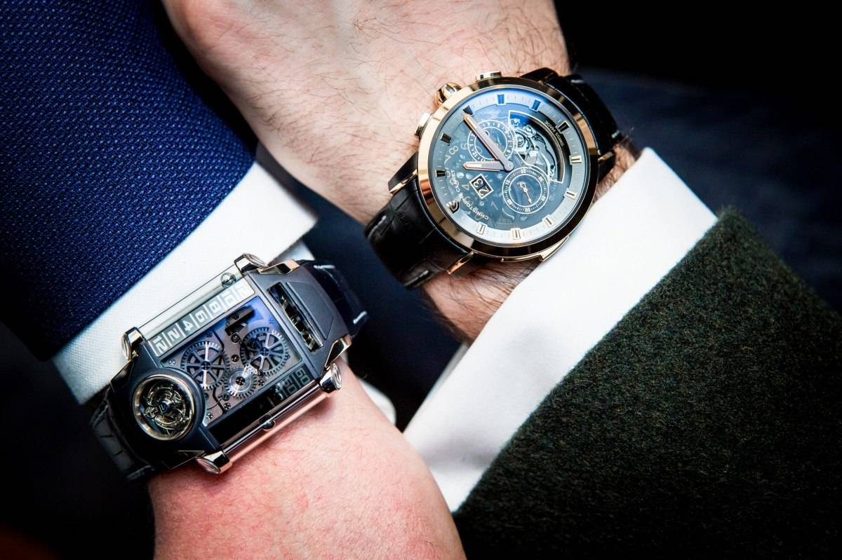 Arthur Touchot Christophe Claret Allegro and X-TREM-1 Watches Baselworld 2015