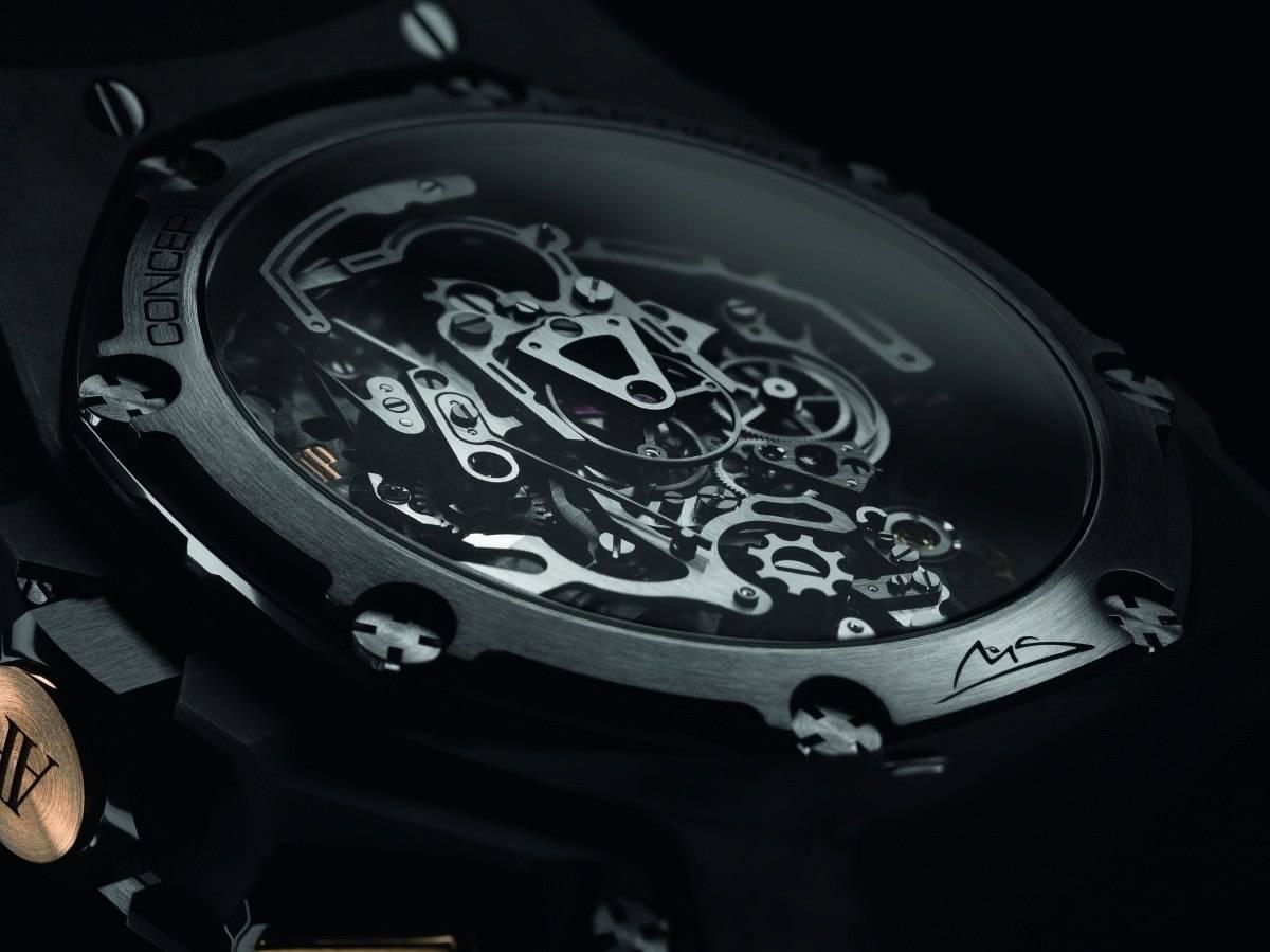 Audemars Piguet Royal Oak Concept Laptimer Michael Schumacher New Watch back