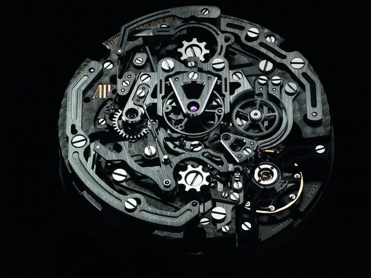 Audemars Piguet Royal Oak Concept Laptimer Michael Schumacher New Watch movement