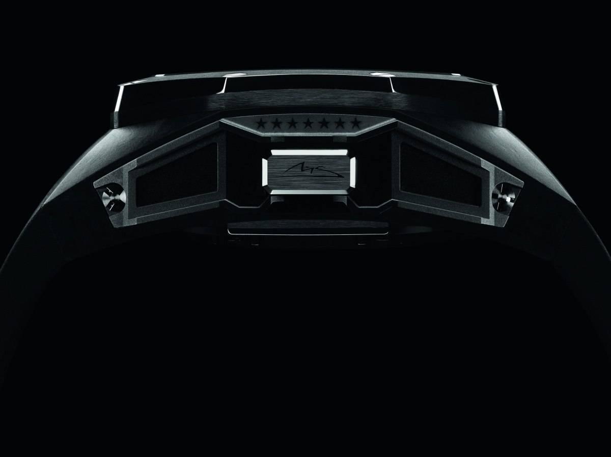Audemars Piguet Royal Oak Concept Laptimer Michael Schumacher New Watch pushpiece
