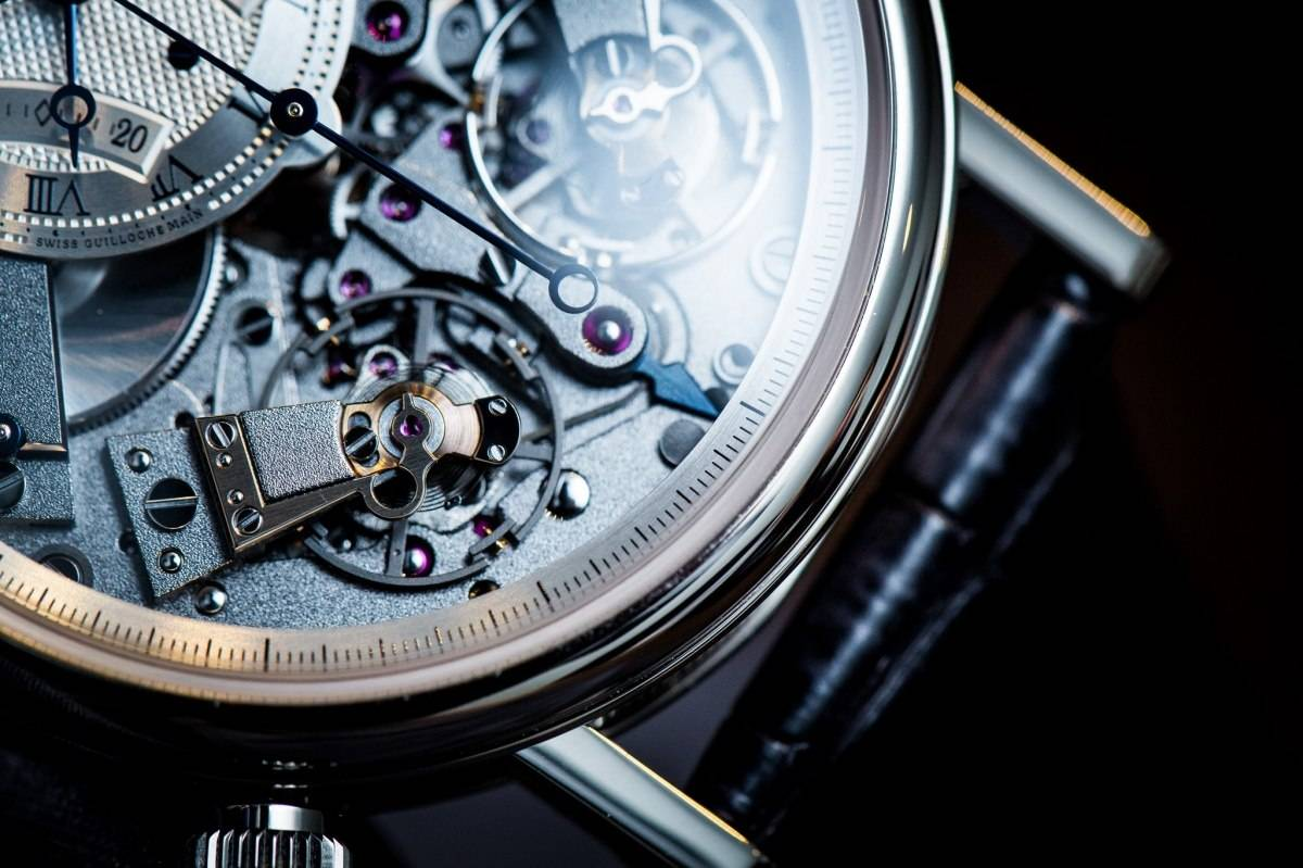 Breguet 7077 La Tradition Chronograph Indépendant Watch Baselworld 2015 Close Up 3