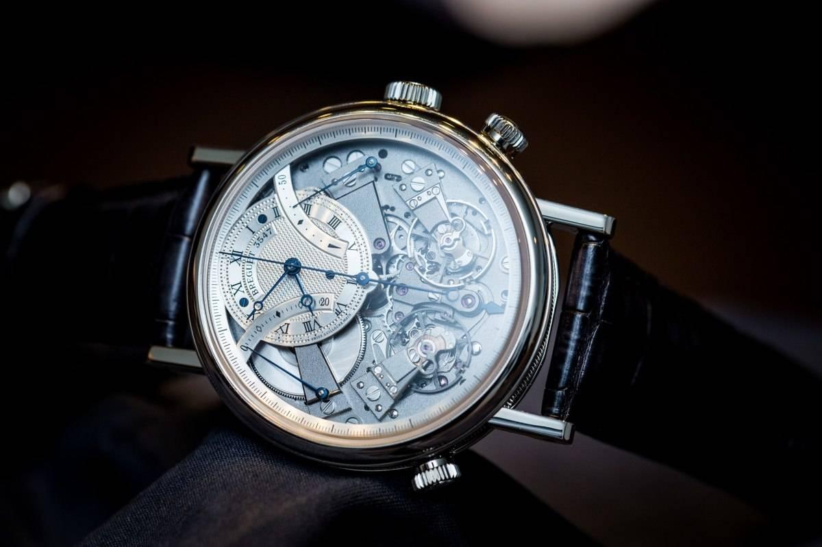 Breguet 7077 La Tradition Chronograph Indépendant Watch Baselworld 2015 Review