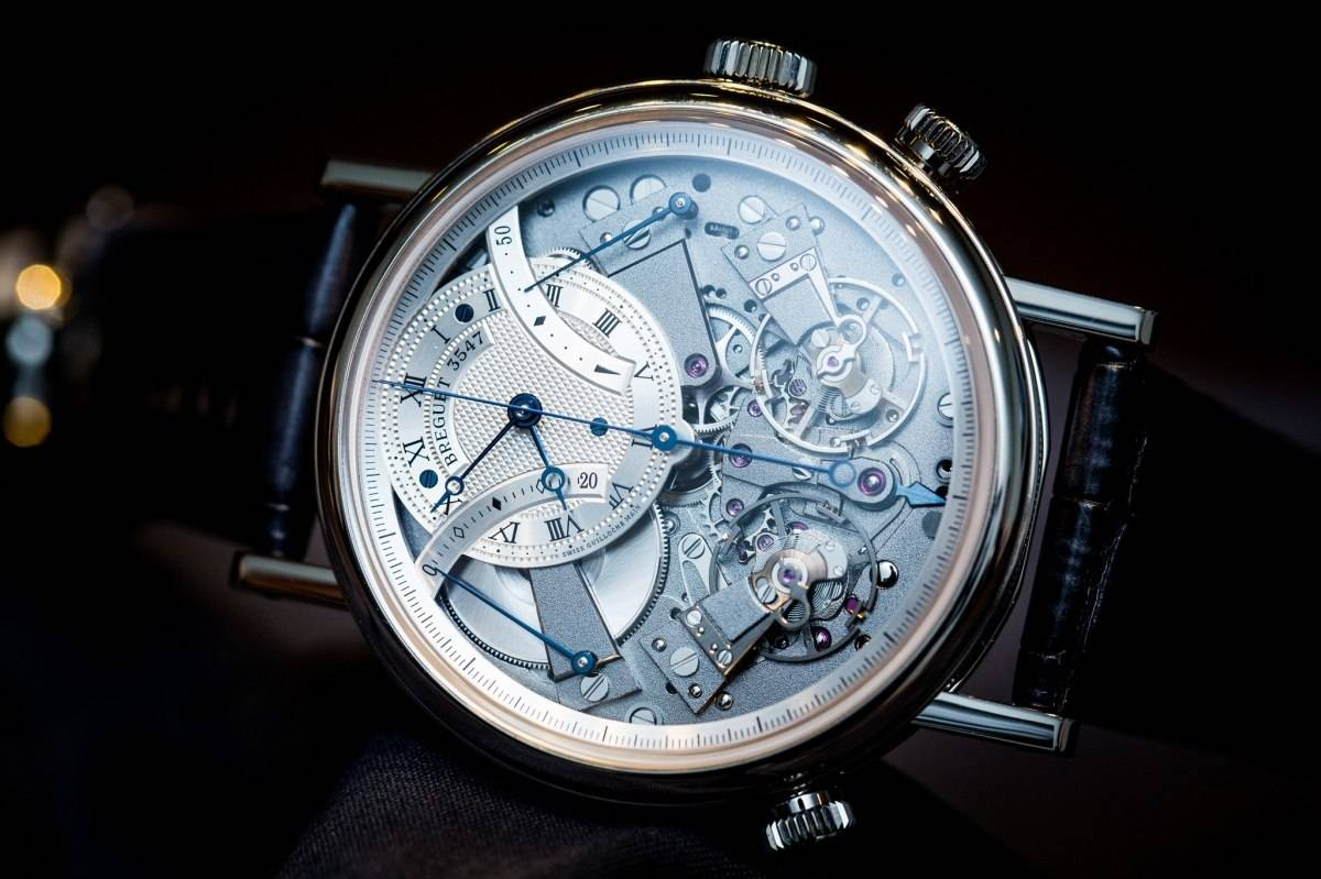 Breguet 7077 La Tradition Chronograph Indépendant Watch Baselworld 2015