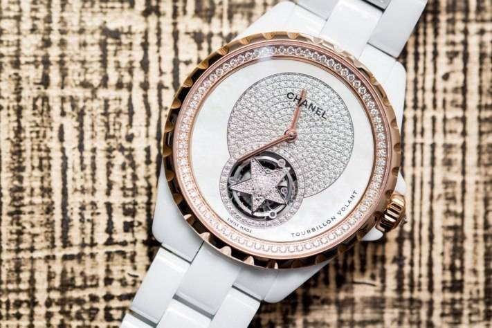 Chanel J12 Flying Tourbillon White Watch Baselworld 2015 feature