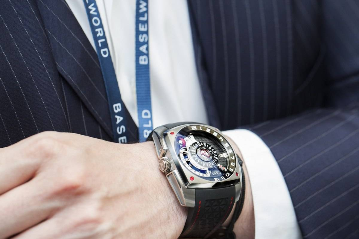 Cyrus Klepcys Moon Master Titanium Watch Review Baselworld 2015 Wrist