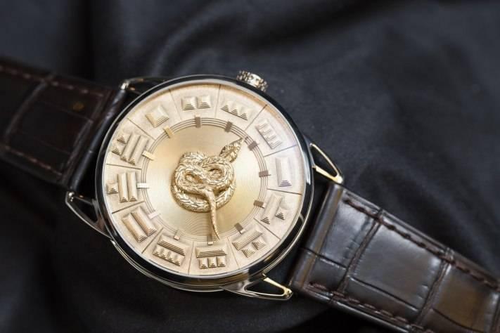 De Bethune DB25 Quetzalcoatl New Snake Watch Baselworld 2015