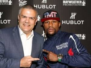 Mayweather v Pacquiao: Hublot Partner With Floyd Mayweather Jr.