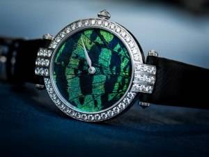 Harry Winston Premier Prec`ious Butterfly Automatic 36mm Watch Baselworld 2015