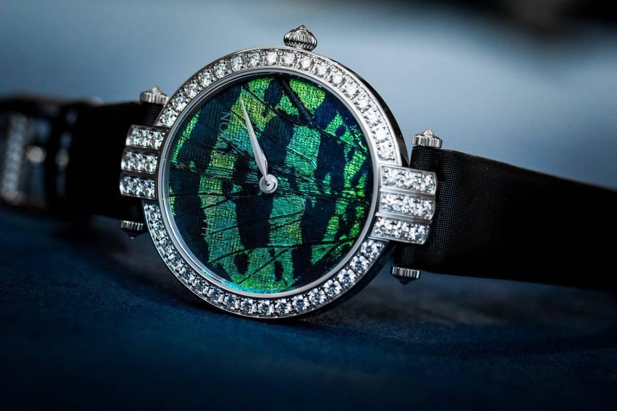 Harry Winston Premier Precious Butterfly Automatic 36mm Watch Baselworld 2015
