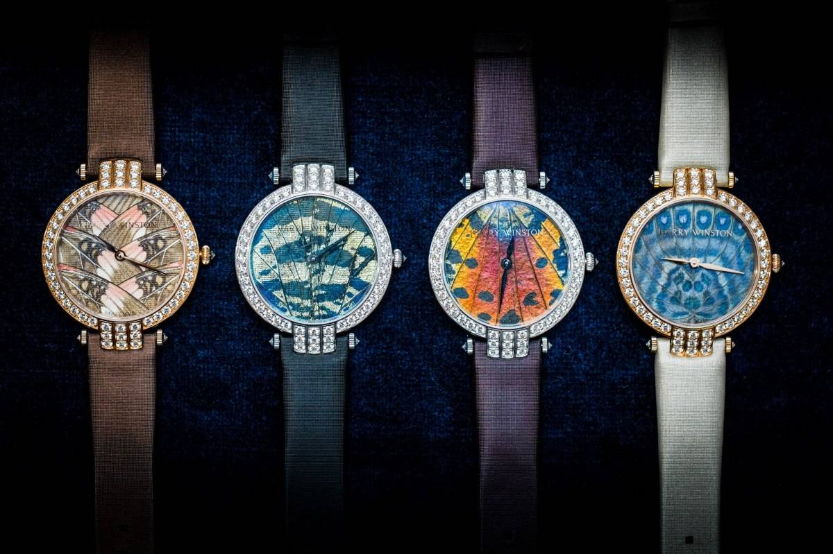 Harry Winston Premier Precious Butterfly Automatic 36mm Watch Collection