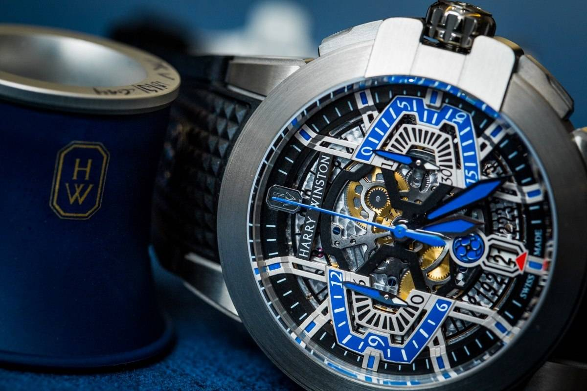 Harry Winston Project Z9 Watch in zalium Baselworld 2015 Hands On