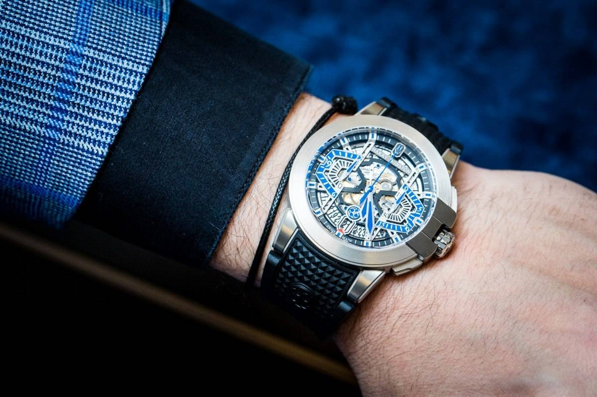 Harry Winston Project Z9 Watch in zalium Baselworld 2015 Wrist