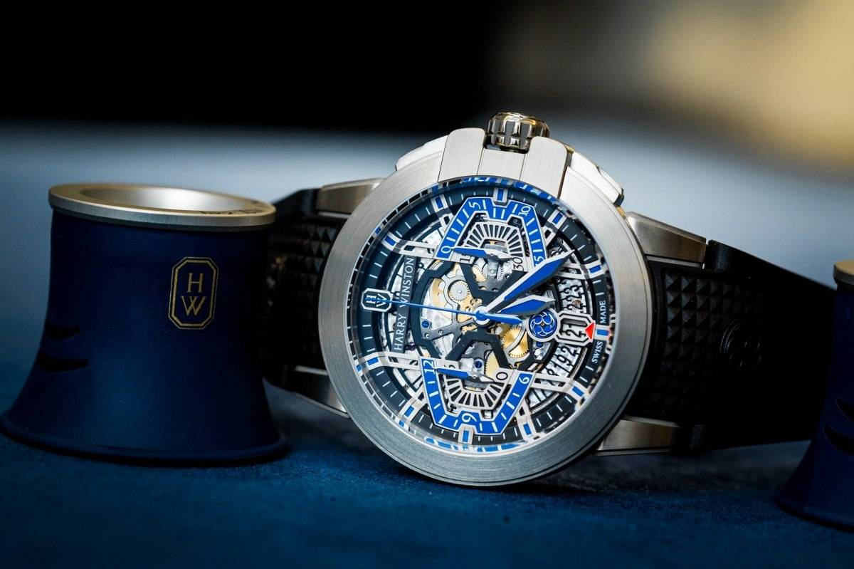 Harry Winston Project Z9 Watch in zalium Baselworld 2015