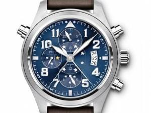 "IWC Introduces The Pilot's Watch Double Chronograph Edition ""Le Petit Prince"""