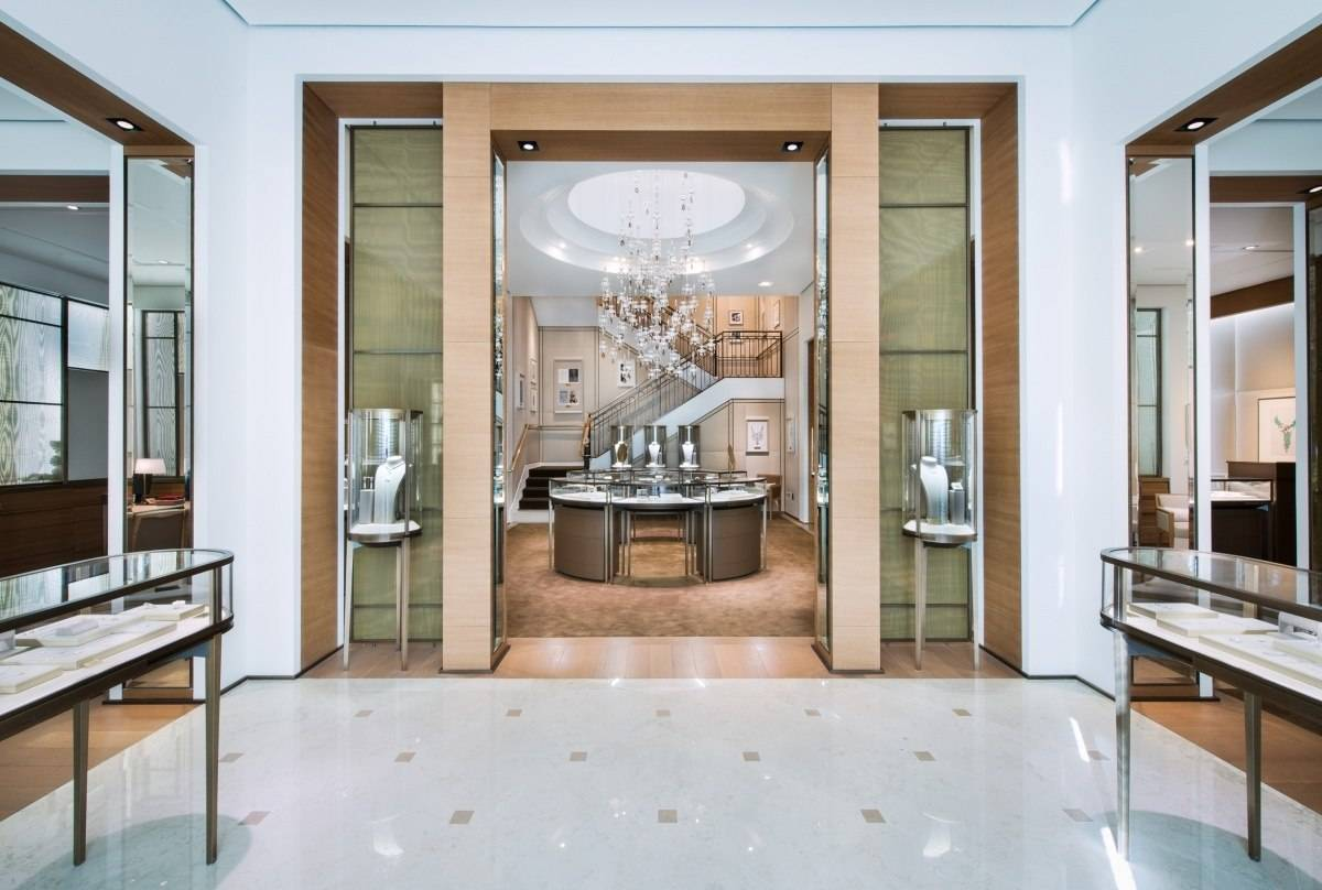 Inside Cartier Miami Design District Store First Floor