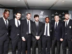 Italy's Juventus Football Club Pays a Visit to Hublot