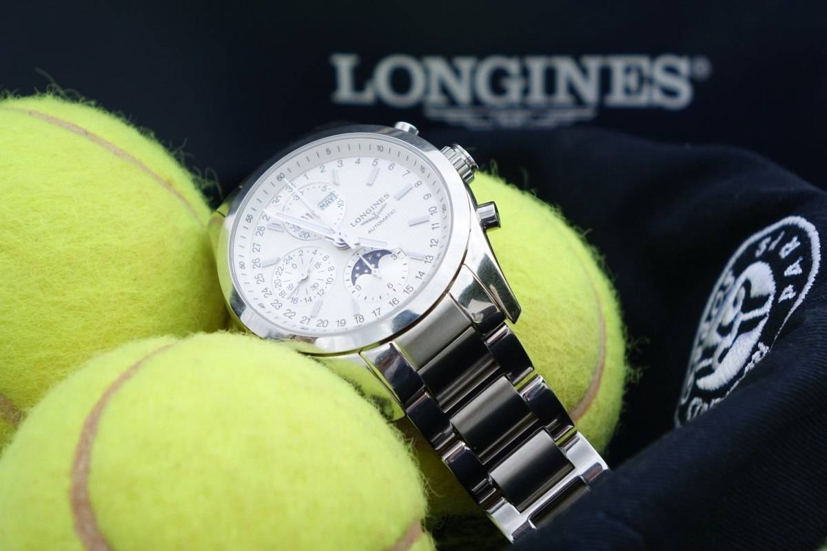 Longines Conquest Classic Moonphase Watch