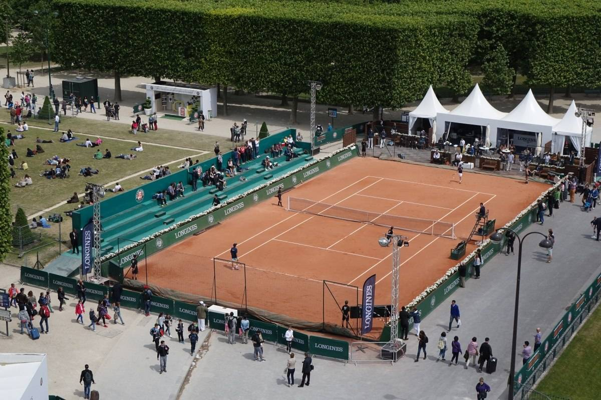 Longines Future Tennis Aces 2015 Champs De Mars