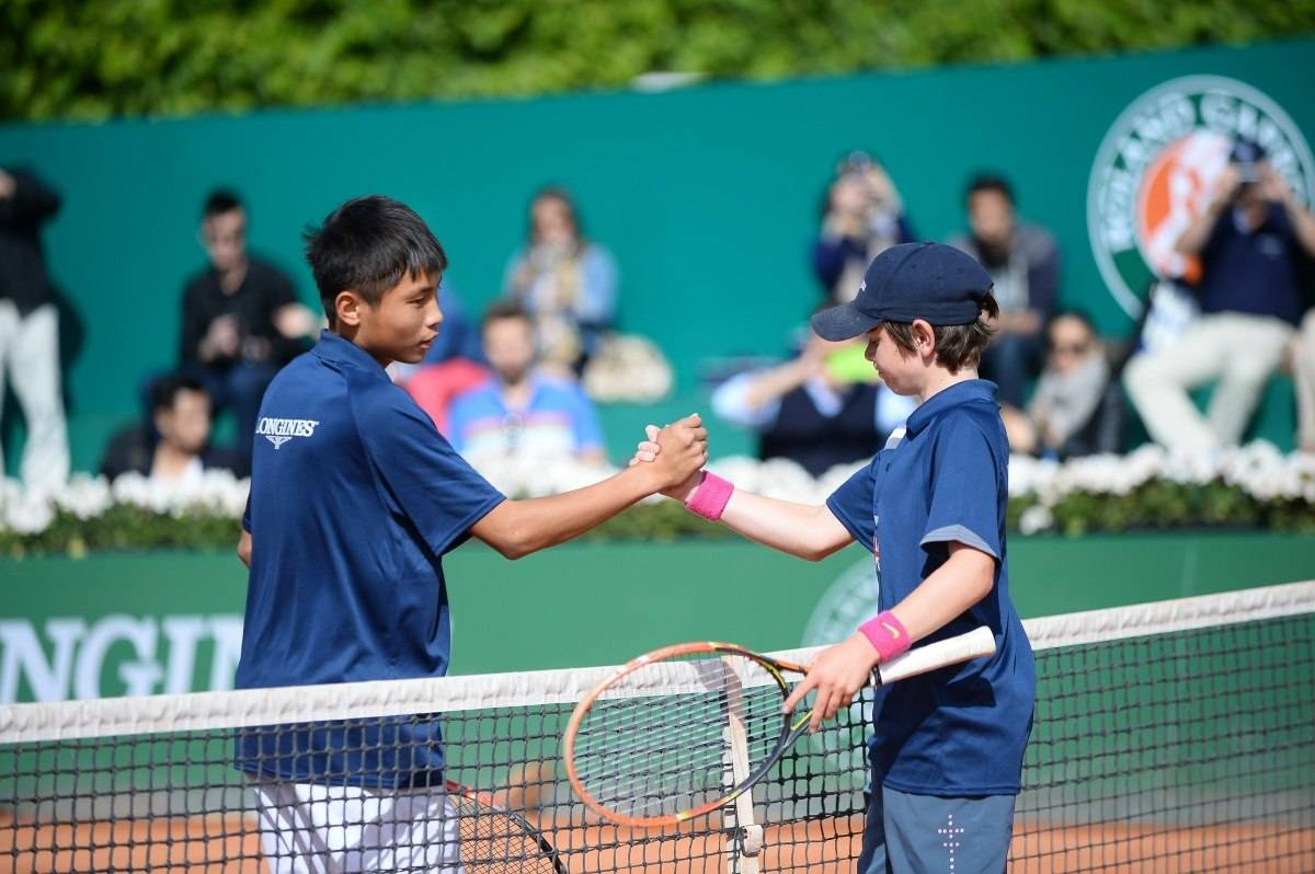 Longines Future Tennis Aces 2015 Final Handshake