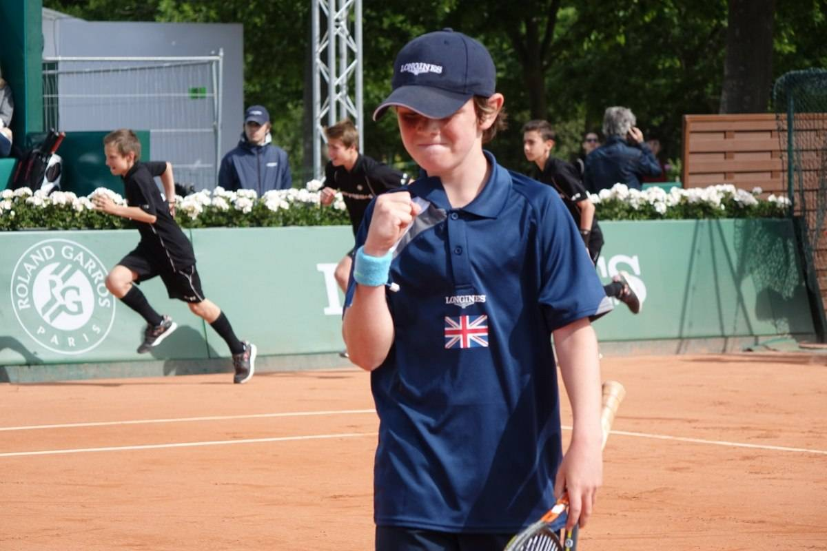 Longines Future Tennis Aces 2015 Final Player UK Pinnington