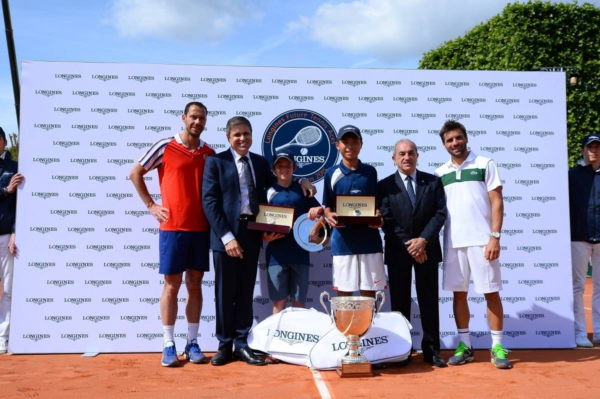Longines Future Tennis Aces 2015 Final Podium