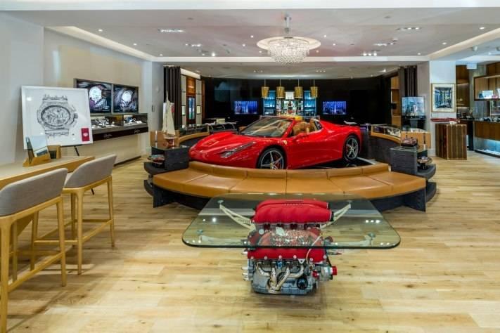 ECJ Luxe Boca Raton Boutique Ferrari