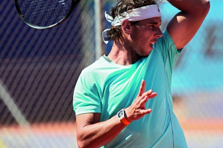 New Richard Mille RM 27-02 Rafael Nadal Watch 2015 Court