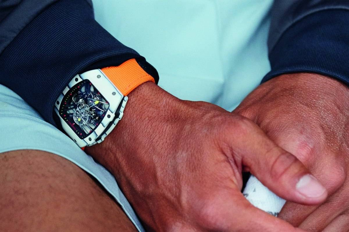 New Richard Mille RM 27-02 Rafael Nadal Watch 2015 Live Wrist