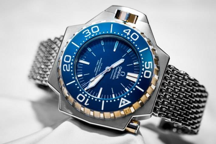 Omega Seamaster Ploprof 1200M Diving Watch Baselworld 2015