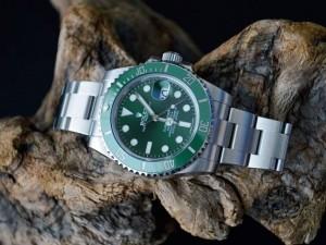 Rolex Hulk Submariner Reference 116610LV Watch