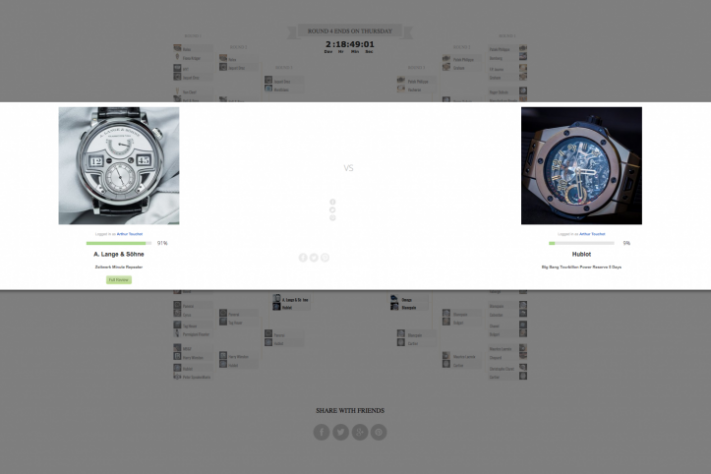Haute Time Watch Madness Quarter-Finals: Vote Now For Your Favorite Watch