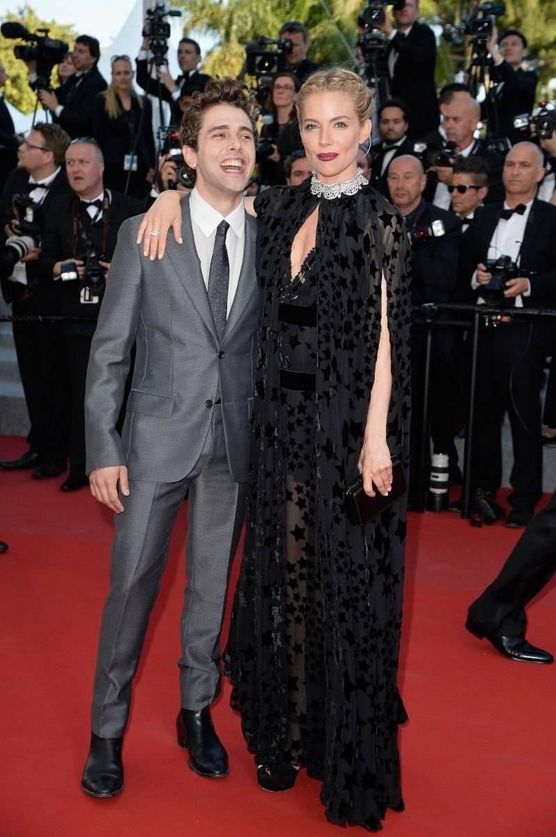 Sienna Miller Bulgari Cannes 2015