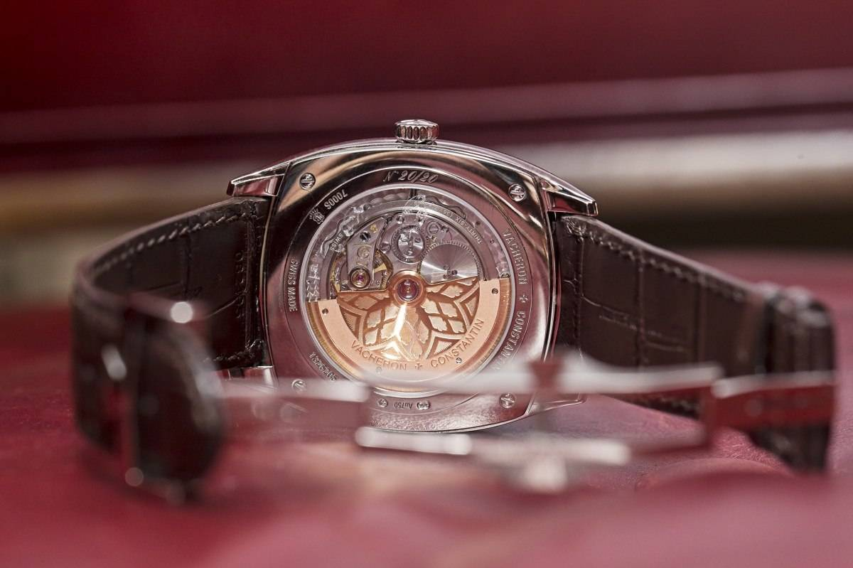 Vacheron Constantin Savoirs Enluminés Collection Caper Watch 2015 back